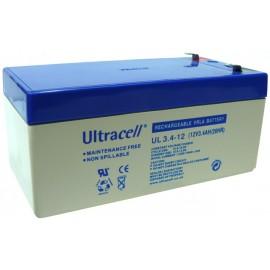 Batería recargable 12 V 3.4 A