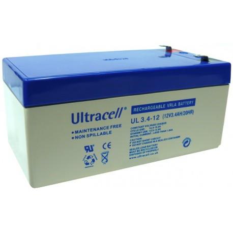 Batería recargable 12 V 3.4A