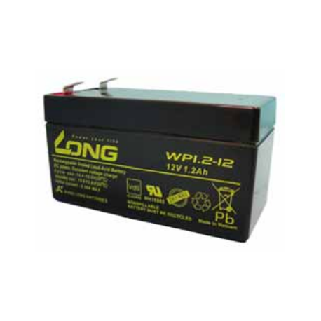 Batería recargable 12 V 1.3A