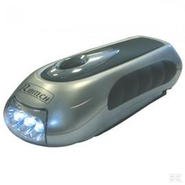 Linterna Dinamo 3 LED