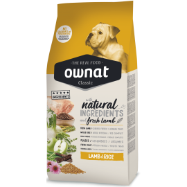 pienso perros ownat classic lamb and rice 20 kg